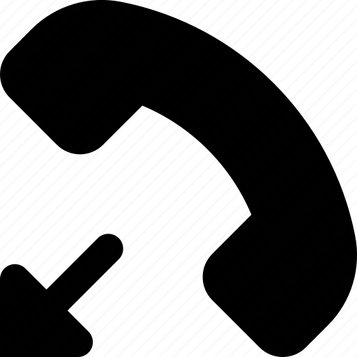 hangup, phone icon
