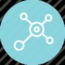 computer, connection, data, internet, online, server icon