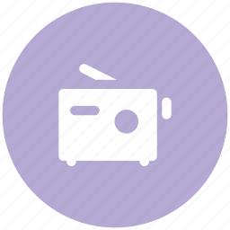audio device, entertainment, radio, tape, wireless transmission icon