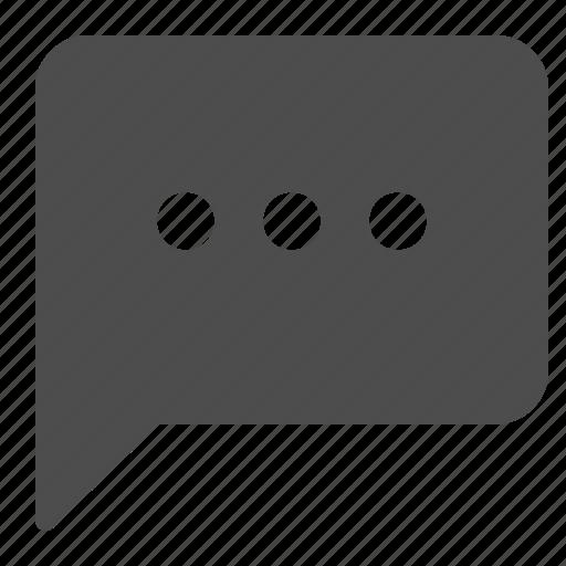 bubble, chat, communication, speech icon