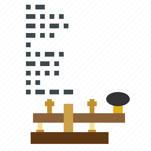 chat, code, communications, frequency, morse icon