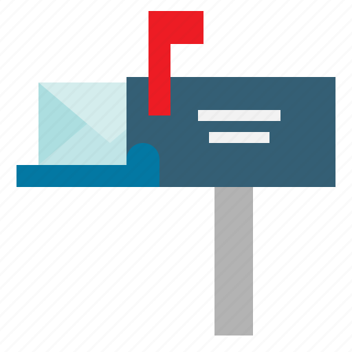 communication, communications, mail, mailbox, message, postal icon