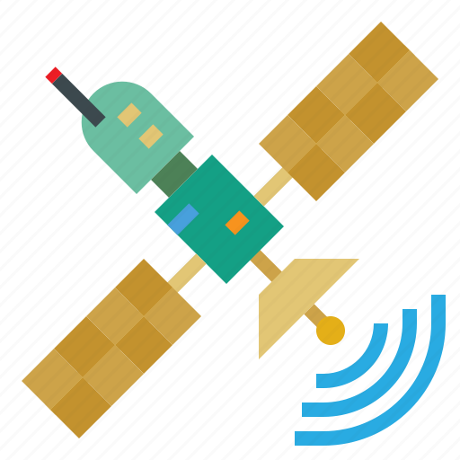 communication, communications, connection, satellite, space, technology icon