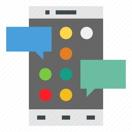 Cellphone, touchscreen, smartphone, mobilephone, communications, iphone, technology icon