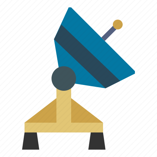 Antenna, communications, dish, radar, satellite, technology, wireless icon - Download on Iconfinder