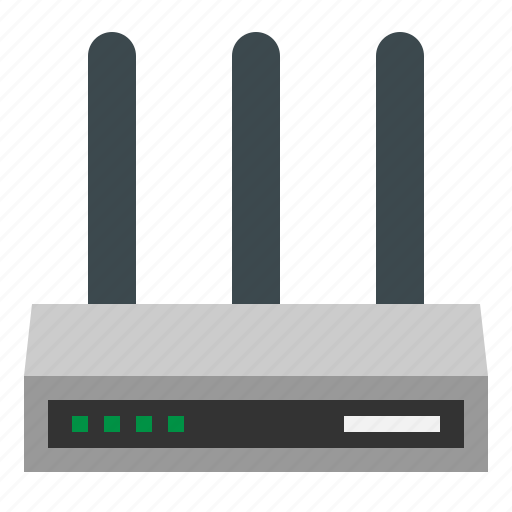 communications, connectivity, modem, router, wifi icon