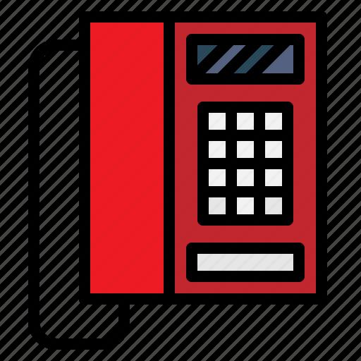 communications, conversation, phone, technology, telephone icon