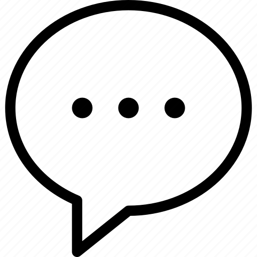bubble, chat, communication, message, writing icon