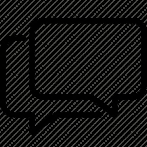 bubble, chat, communication, message, multi icon