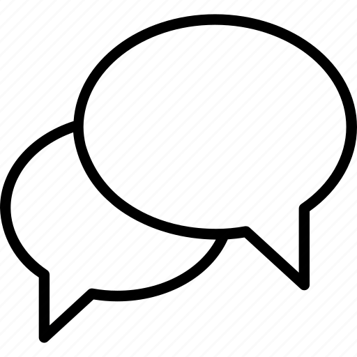 chat, multimedia, speech bubble icon