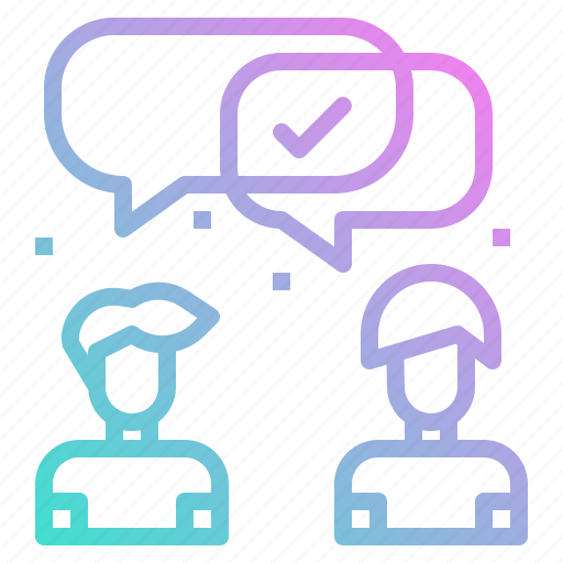 chat, communications, consulting, conversation, talk icon