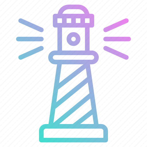 architecture, buildings, guide, lighthouse, orientation, tower icon