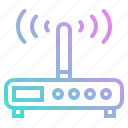 connection, connectivity, internet, modem, wifi, wireless icon