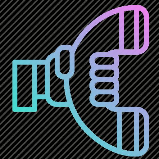 circular, interface, phone, symbol, symbols, telephone icon