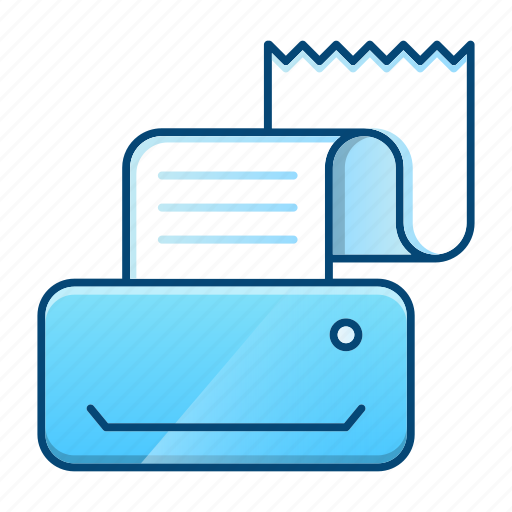 communication, contact us, device, fax, printer icon