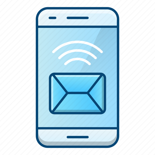 Device, communication, message, mail icon