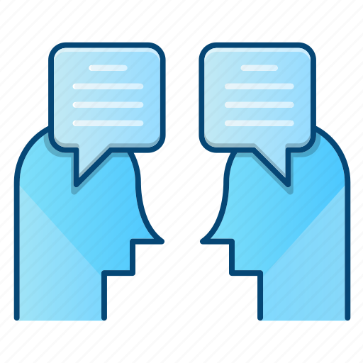 chat, communication, contact us, discussion icon
