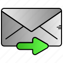 airplane, email, paper, send, sending icon