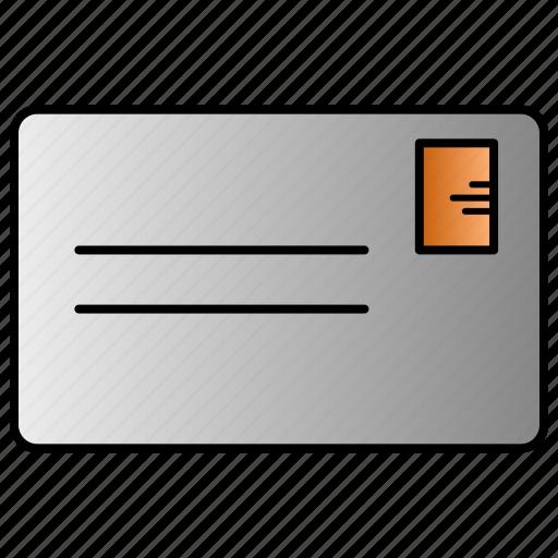 communication, doodle, letter, mail, message icon