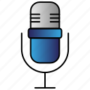 audio, microphone, speech, voice icon