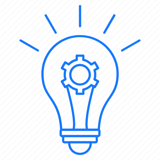 Bulb, education, gear, idea icon - Download on Iconfinder