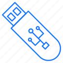 device, flash, portable, storage, usb icon