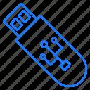 device, flash, portable, storage, usb icon