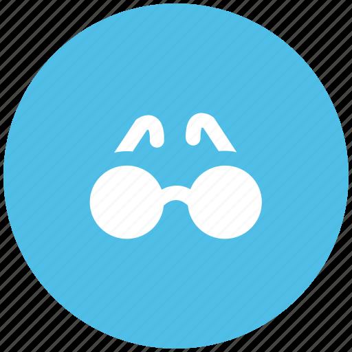 eye frame, eyeglasses, eyewear, glasses, goggles, specs, spectacles icon