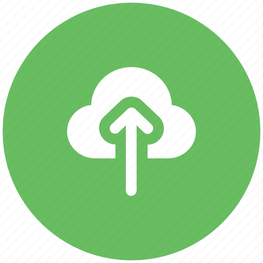 cloud, cloud computing concept, upload, uploading icon