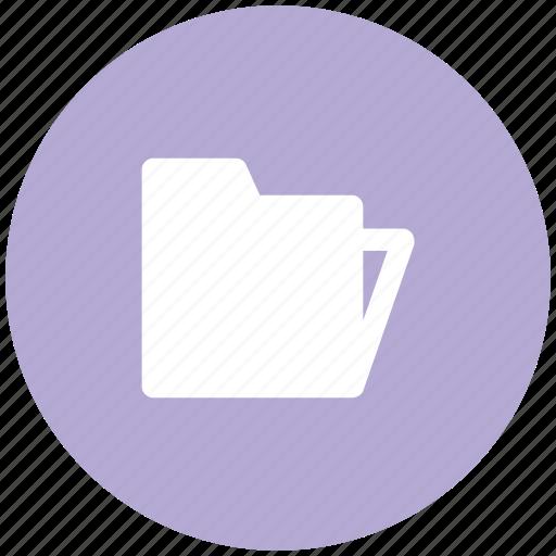 archive, computer folder, data storage, folder, opened, opened folder, storage icon