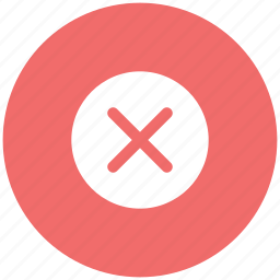 close, cross sign, delete sign, deny, multiplication, remove, wrong symbol icon