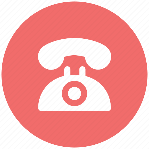 call, communication, landline phone, phone, retro, ringing, telephone icon
