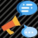 bubble, communication, information, message, speech, announcement, social