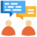 chat, data, message, people, talk, discuss, social