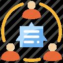 chat, communication, talk, team, conversation, discuss, social