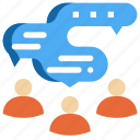 chat, communication, group, people, talk, discuss, social