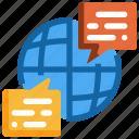 communication, information, message, online, worldwide, conversation, social
