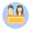 conference, debate, open discussion, seminar, speech, training, workshop icon