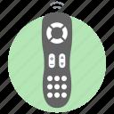 device, distance control, remote, remote control, tele guidance, telecommand, tv remote icon