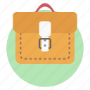 business bag, business briefcase, business portfolio, professor bag, suitcase icon