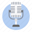 audio, mic, microphone, radio mic, recording mic, speaker, transmitter icon