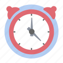 alarm, alarm clock, analog clock, clock, ringing alarm, timepiece, timer icon