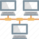 area, communication, connection, lan, local, network, workgroup icon