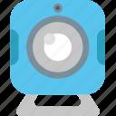 camera, chat, communication, internet, talk, video, webcam icon
