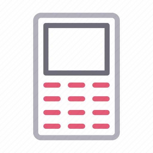 Cell, communication, device, mobile, phone icon - Download on Iconfinder