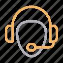 contactus, headset, helpline, services, support