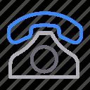 call, communication, landline, receiver, telephone
