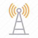 connection, satellite, signal, tower, wireless
