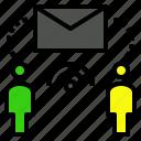 communication, correspondence, letter, message, post