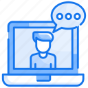 Chat Consultation Conversation Icon